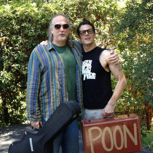 Image of Johnny Knoxville and Roger Alan Wade