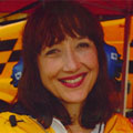 Image of Nascar host claire b lang
