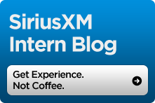 SiriusXM Intern Blog