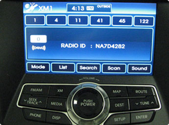 How Much Does It Cost To Register A Car >> Find Your XM or SiriusXM Radio ID