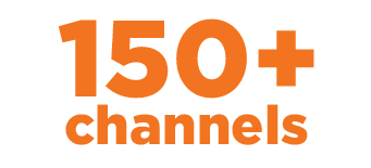 150 channels