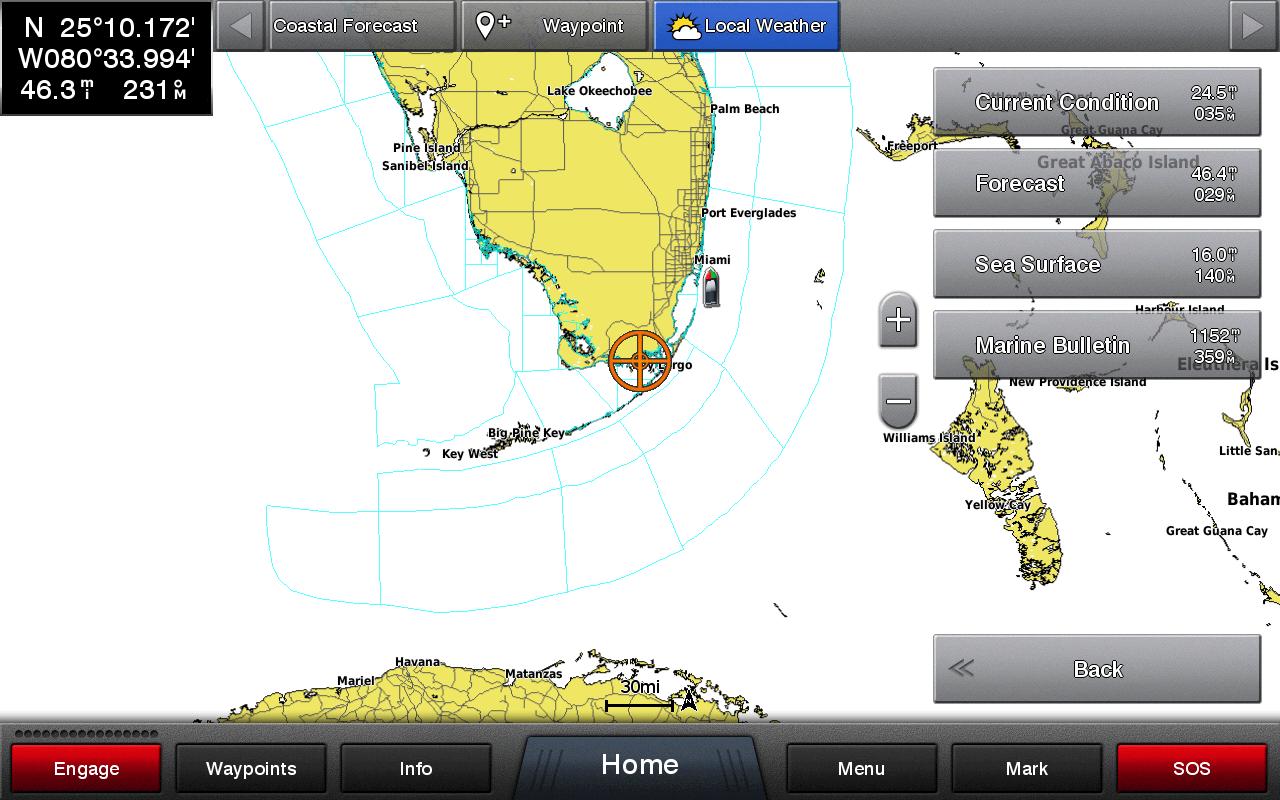 SiriusXM Marine Weather