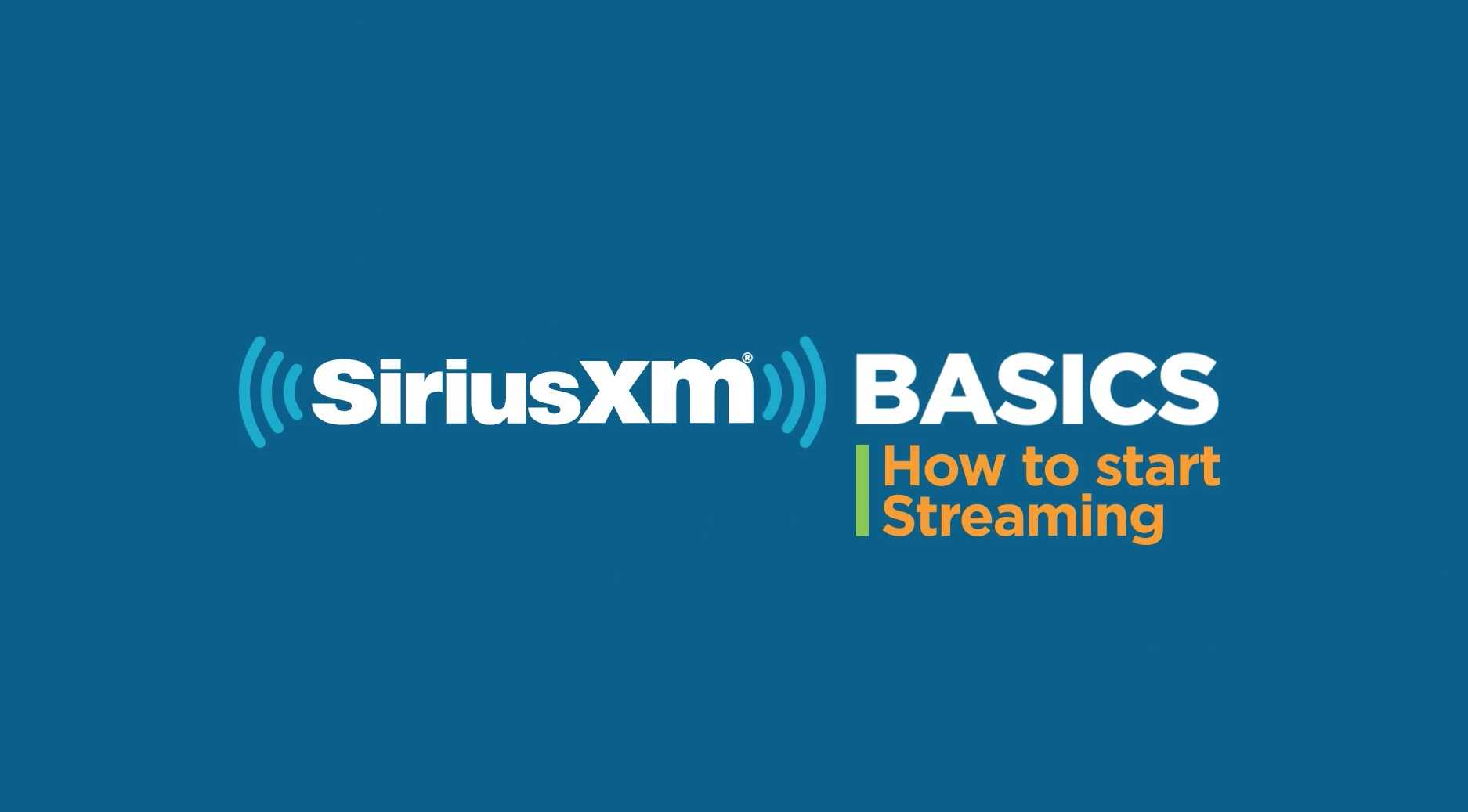 SiriusXM Satellite & Online Radio Trial Subscription Info